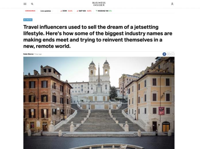 Business Insider travel